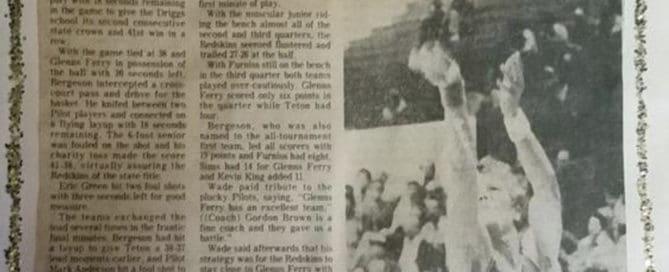 1976 undefeated teton high school basketball