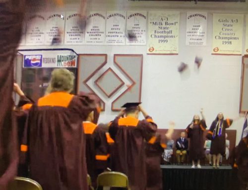 Nearly a hundred students graduate from Teton School District 401 high schools