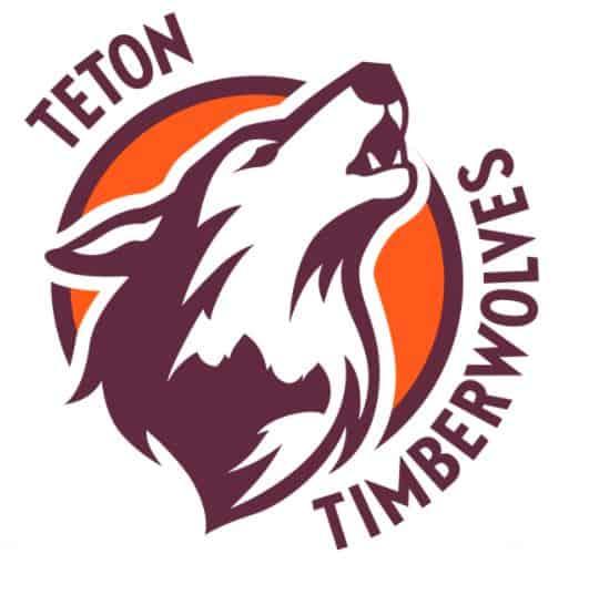 teton timberwolves logo